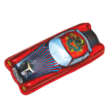 2402_Ретро машина (красная)