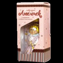 3171_Ангелочек с игрушкой и добрым пожеланием