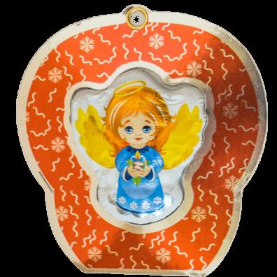 3218_Шоколадная фигура Ангел